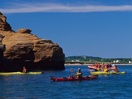 Kayak outing in Gros-Cap