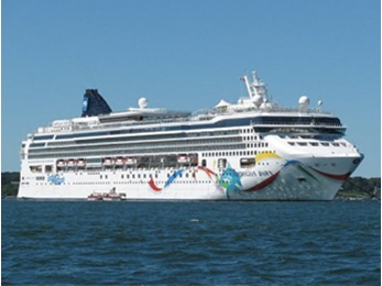 Freedom cruising with Norwegian Cruise Line