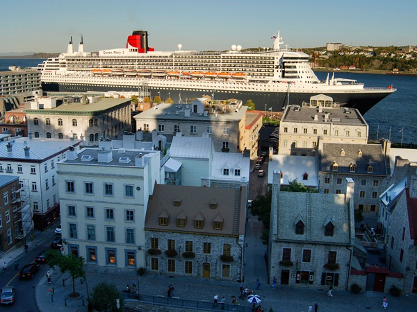 Quebec Port Of Embarkation And Port Of Call Cruising Canada - Where do old cruise ships go