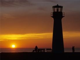 Phare de l'Étang-du-Nord, Îles de la Madeleine  (crédit : Tourisme Îles de la Madeleine, Michel Bonato)