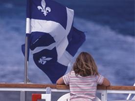 Drapeau du Québec  (crédit : MTOQ, JP Huard)